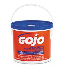 <strong>GOJO Industries</strong> Fast Wipes Hand Cleaning Towels, Cloth, 225/Bucket