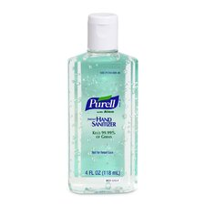 Hand Sanitizer, w/ Aloe, Squeeze Bottle, 4 oz.
