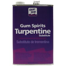 1 Gallon Gum Spirits Turpentine Substitute California Approved GGT69CA