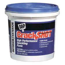 1 Quart CrackShot™ Spackling Interior/Exterior 12378