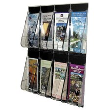 8 Pocket Leaflet Wall Rack