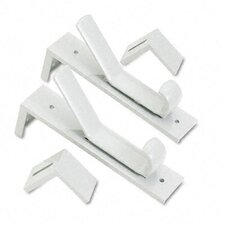 Partition Double Garment Hooks