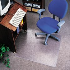 EconoMat Nonstudded, No Bevel Chair Mat for Low Pile Carpet