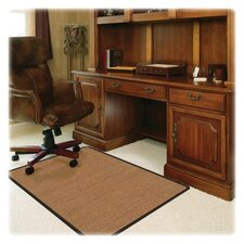 <strong>Deflect-O Corporation</strong> RollaMat Medium Pile Carpet Straight Edge Chair Mat