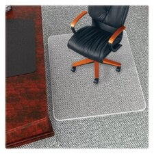 <strong>Deflect-O Corporation</strong> High Pile Beveled Edge Chair Mat