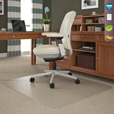 SuperMat Medium Pile Carpet Beveled Edge Chair Mat