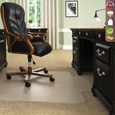 Classic ExecuMat High Pile Carpet Beveled Chair Mat