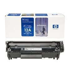 <strong>HEWLETT PACKARD SUPPLIES</strong> OEM Toner Cartridge, 2000 Page Yield, Black