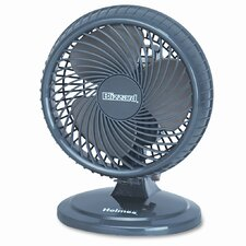 "Holmes® Lil' Blizzard 7"" Two-Speed Oscillating Personal/Table Fan"