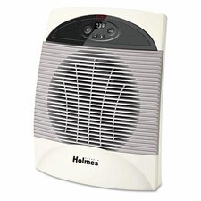 1,500 Watt Fan Forced Compact Space Heater with Auto Shut-Off
