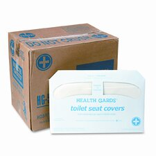 Health Gards Half-Fold Toilet Seat Covers - 250 Covers per Box