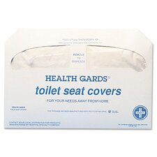 <strong>Hospital Specialty</strong> Health Gards Toilet Seat Covers, 250 Covers/Pack, 20 Packs/Carton