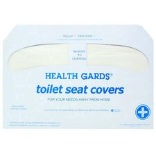 Health Gards Half-Fold Toilet Seat Cover in White (Case of 2500)