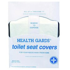 Health Gards Quarter-Fold Toilet Seat Cover in White (Case of 5000)