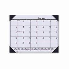 EcoTones Sunrise Rose Monthly Desk Pad Calendar, 22 x 17, 2013