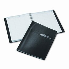 Four-Person Group Practice Daily Appointment Book, 8 x 11, Black, 2013