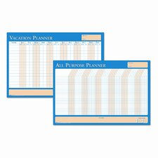 All-Purpose/Vacation Plan-A-Board Calendar 2' x 3' White Board