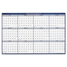 <strong>House of Doolittle</strong> Poster Style Reversible/Erasable Academic Yearly Wall Calendar, 24 x 37, 2013