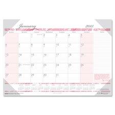 Breast Cancer Awareness Desk Pad Calendar