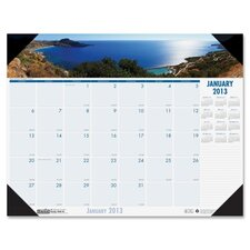 Eco Friendly Coastlines Desk Pad