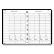Eco Friendly Weekly Planner with Expense Log