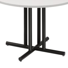 "OfficeWorks Four-Column 31"" Round Folding Table"
