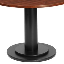 "OfficeWorks Single-Column 23.5"" Round Folding Table"