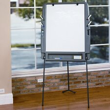 Portable Flipchart Easel 6.08' x 2.92' White Board