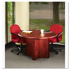 <strong>Iceberg Enterprises</strong> Base for Round Table Top, 29-1/2w x 29h, Mahogany