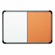 Ingenuity Combo Dry Erase/Cork 3' x 4' Whiteboard and Bulletin Board