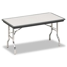 Indestruc-Tables Too Folding Table, Rectangular, 60d x 30d x 29h, Charcoal