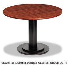 <strong>Iceberg Enterprises</strong> Officeworks Single Column Base for Round Table Top
