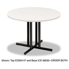 "Officeworks 42"" Round Conference Table Top, Square Edge"