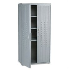 <strong>Iceberg Enterprises</strong> Officeworks Resin Storage Cabinet, 33W X 18D X 66H