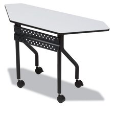 Officeworks Mobile Training Table, Trapezoid