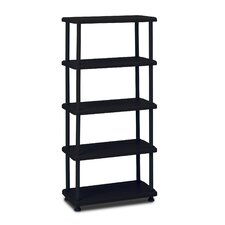 "Rough 'N Ready 74"" H Five Shelf Shelving Unit Starter"