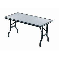 IndestrucTable Rectangular Folding Table