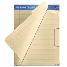 Find It File Folder Note Pad (12 Count)