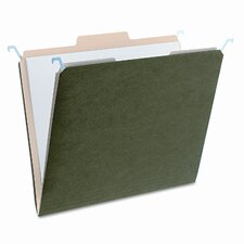 Find It Hanging File Folders with Innovative Top Rai, 20/Pack