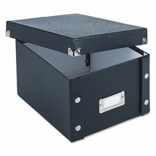 Snap-N-Store Snap 'N Store Collapsible Index Card File Box