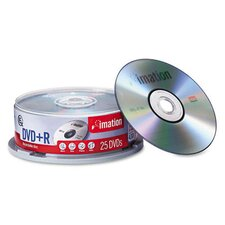DVD+R Disc, 25/Pack