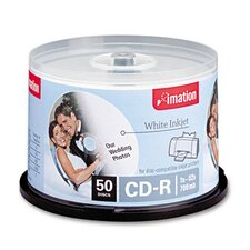 CD-R Disc, 700Mb/80Min, 52X, Spindle, 50/Pack (Set of 2)