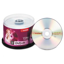 DVD+R Recordable Disc, 50/Pack