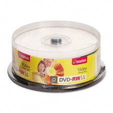 DVD-RW Disc, 4.7Gb, 25/Pack
