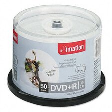 DVD+R Disc, 4.7Gb, 50/Pack (Set of 2)
