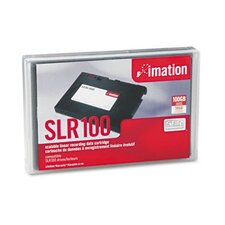 8 mm SLR100 Data Cartridge, 1500ft, 50GB Native/100GB Compressed Data Capacity