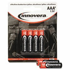 Alkaline Battery, 8/Pack