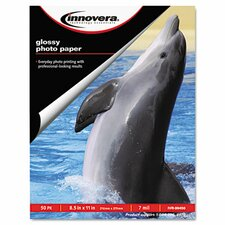 Glossy Photo Paper, 50 Sheets/Pack