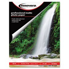 Heavyweight Photo Paper, 50 Sheets/Pack