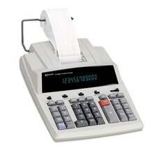 Printing Calculator, 12-Digit Fluorescent